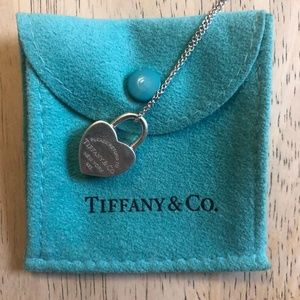Tiffany & Co. Return To Tiffany Heart Lock Pendant